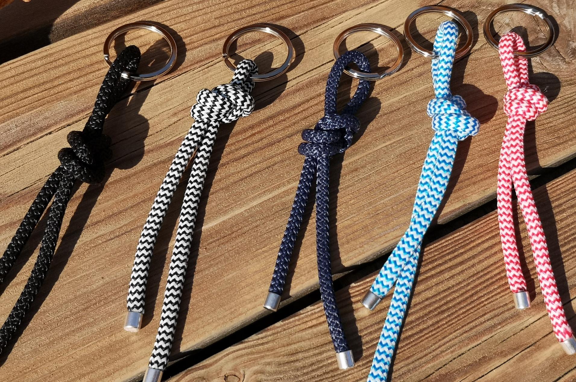 Schlüsselanhänger aus Segelseil klein