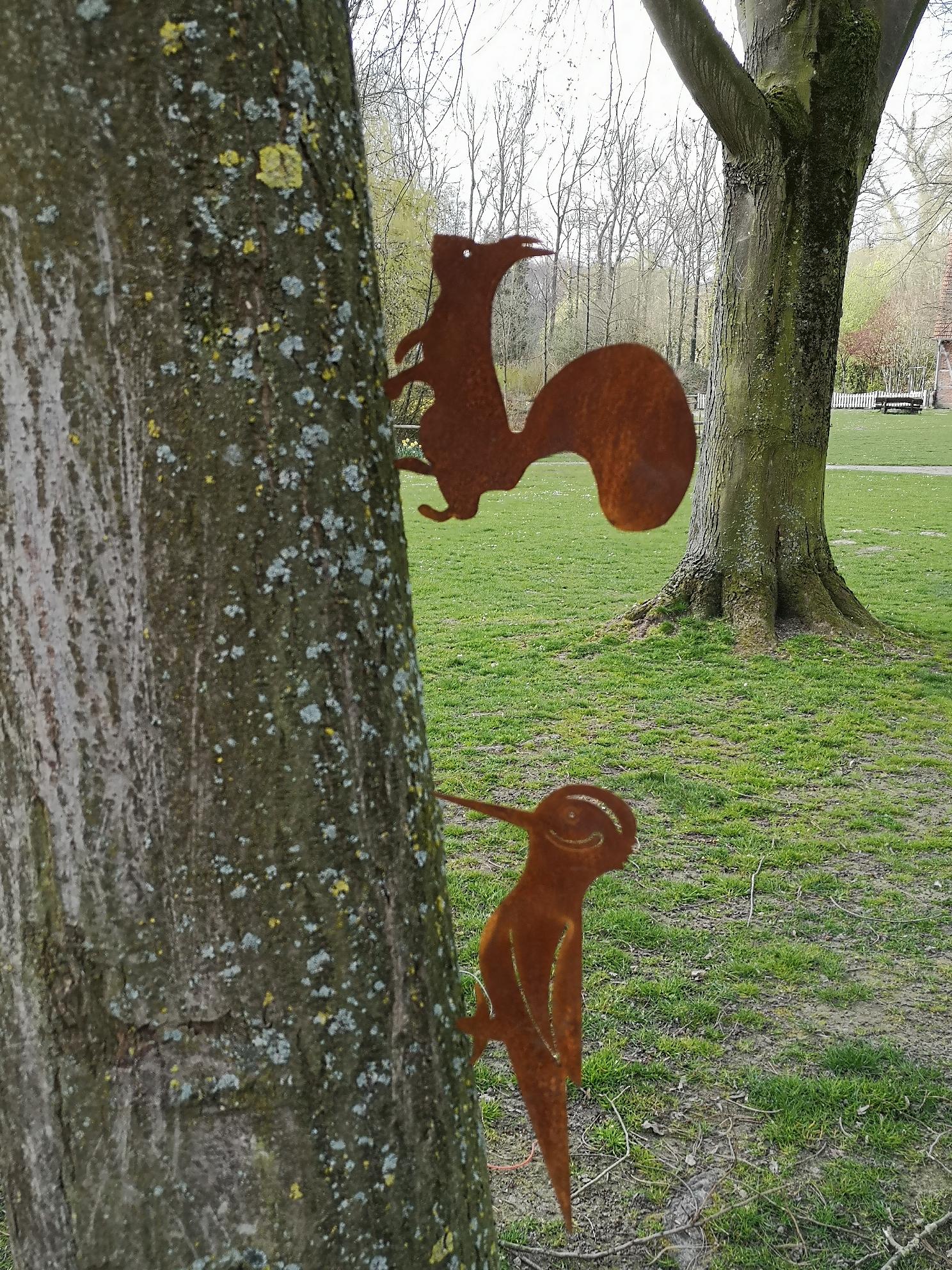 Rost Eichhörnchen
