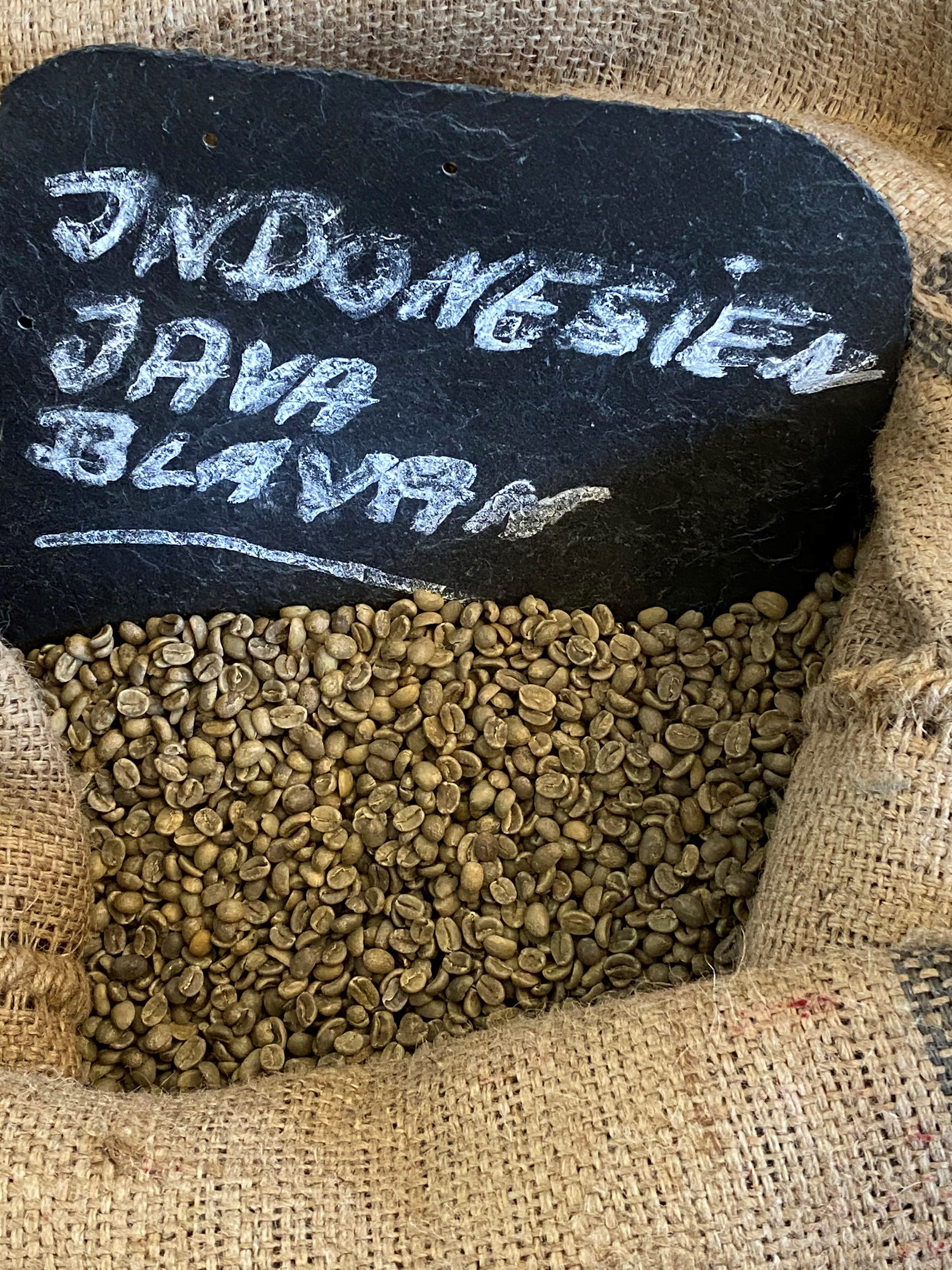 Indonesien Java Blawan